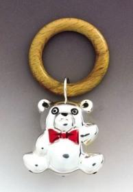 Silver Bear Bell