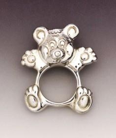 Silver Bear Rattle