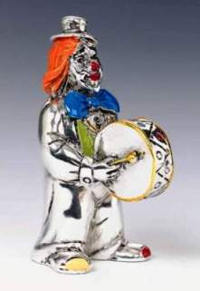 Silver Clown Drum