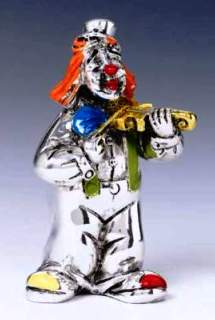 Silver Clown Violin