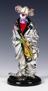 Silver Clown Trumpet