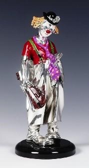 Silver Clown Violin
