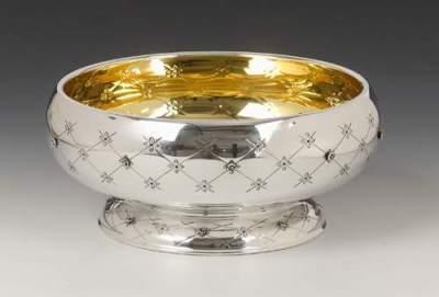 Silver Bowl Chentarosa