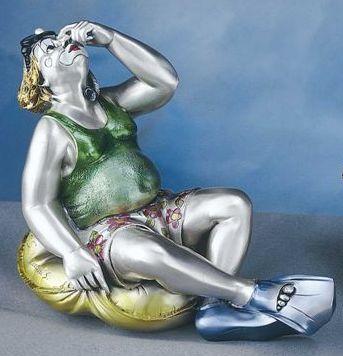 Silver Clown Bather
