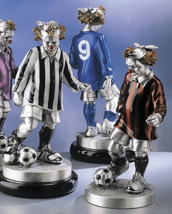 Silver Clown Soccer
