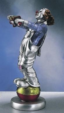 Silver Clown Acrobat