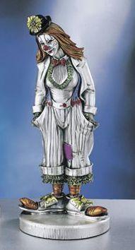 Silver Clown Girl