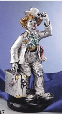 Silver Clown Salesman