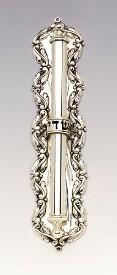 Silver Mezuzah Case Flute