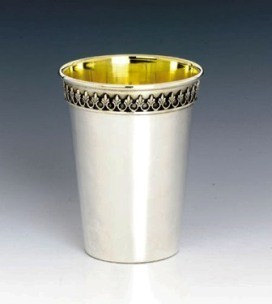 Kiddush Cup Filigree