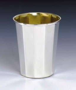 Kiddush Cup Hexagon
