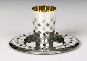 Silver Wine Cup Set Chentarosa