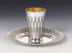 Silver Wine Cup Set Gemma
