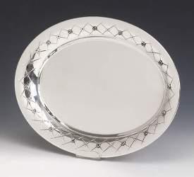 Silver Tray Chentarosa