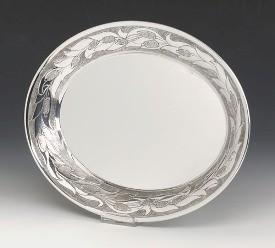Silver Tray Fiori