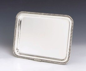 Silver Tray Pearls