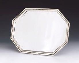 Silver Tray Octagon